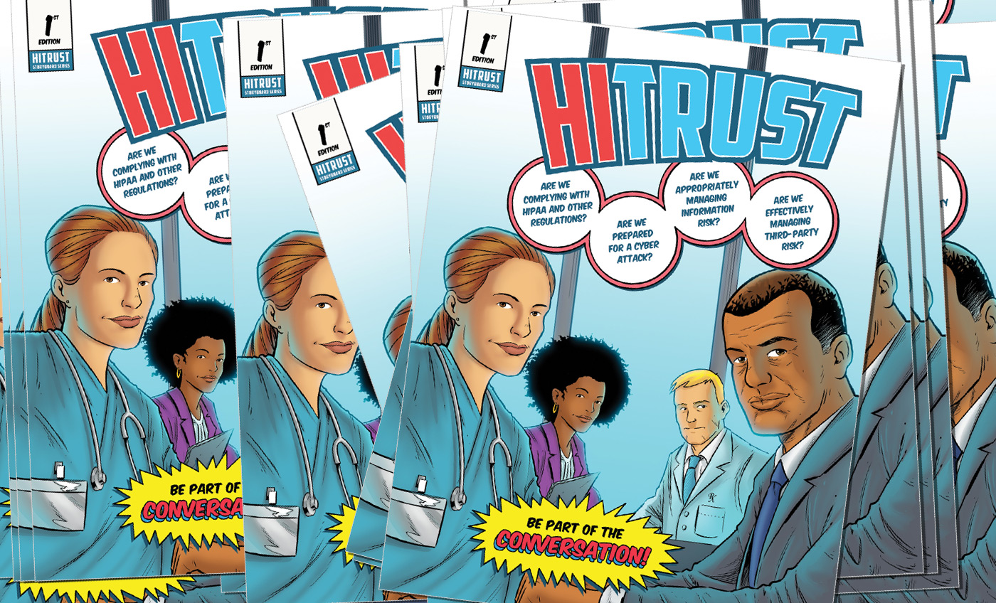HITRUST Has Created a Comic Book – and Here's Why